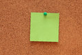 Blank Post-it Note Royalty Free Stock Photo