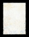 Blank postage stamp background or texture Stock Photos