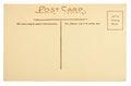 Blank Postcard Royalty Free Stock Photo