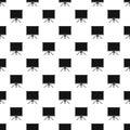 Blank projection screen pattern vector