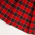 Blank Red Checkered Fabric Tex...