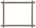 Blank Signboard Frame, Isolated Copy Space, Grey Wooden Texture, Grunge Aged Rustic Weathered Empty Textured Gray Wood Framing Royalty Free Stock Photo