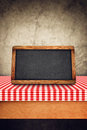 Blank Slate on Kitchen Table Royalty Free Stock Photo