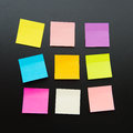 Blank sticky notes Royalty Free Stock Photo