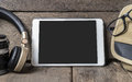 Blank Tablet Screen for picture frame Royalty Free Stock Photo