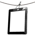 Blank Tag Tablet Computer Stock Photos