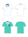 Blank tshirt hand drawn t shirts for logo design or colors easy to manipulate in photoshop Royalty Free Stock Images