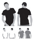 Blank tshirt this image is a vector illustration and can be scaled to any size without loss of resolution Royalty Free Stock Photography