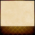 Blank venue poster or movie poster, vintage white paper on shabby brown gold background pattern design