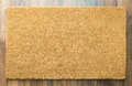 Blank Welcome Mat On Wood Floor Royalty Free Stock Photo