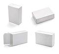Blank white box Royalty Free Stock Photo
