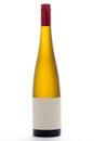 Blank White Wine Bottle Royalty Free Stock Photo