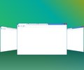 Blank window of internet browser for website presentation Royalty Free Stock Photography