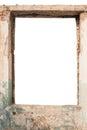Blank window opening Royalty Free Stock Photo