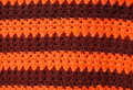 Blanket colors macro photo of knitted Royalty Free Stock Photo