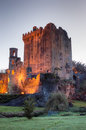 Blarney castle county cork ireland exterior view of in Royalty Free Stock Photography