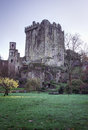 Blarney castle county cork ireland exterior view of in Royalty Free Stock Images