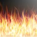 Blaze fire flame. EPS 10