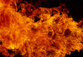 Blaze fire flame texture background isolate Royalty Free Stock Photos