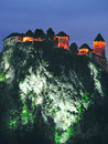 Bled Castle,Lake Bled,Slovenia Royalty Free Stock Photo