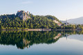Bled Castle in Slovenia Royalty Free Stock Photo