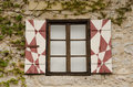 Bled Castle Window Royalty Free Stock Photo
