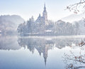 Bled slovenia europe lake of Royalty Free Stock Images