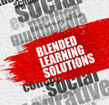 Blended Learning Solutions on Brickwall.