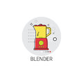 Blender Electronic Cooking Utensils Icon Royalty Free Stock Photo
