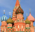 Blessed Basil cathedral Stock Image