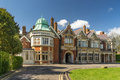 Bletchley park in buckinghamshire on the outskirts of the town Stock Image