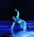 The blind ferocious-The dance drama The legend of the Condor Heroes Royalty Free Stock Photo