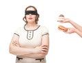 Blindfold Plus Size Woman Temp...