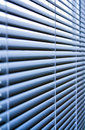 Blinds on open window close up Stock Photos