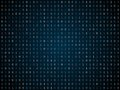 Blink binary code screen black Royalty Free Stock Photo