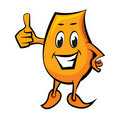 Blinky with thumbs up Royalty Free Stock Photo