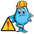 Blinky under construction Royalty Free Stock Image