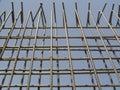 Blocco per grafici del False-work per la parete Fotografia Stock