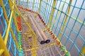 Blocco per grafici di scalata Fotografie Stock