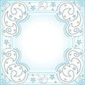 Blocco per grafici stellato Fotografie Stock