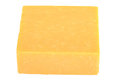 Block of Cheddar Cheese Royalty Free Stock Photo