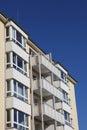 Block of flats in kiel germany Royalty Free Stock Photos