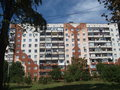 Block the photo shows the was built when moldova was part of soviet union the multifamily building is charaketristic for socialist Royalty Free Stock Images
