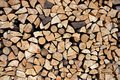 Block of wood imposed by blocks Royalty Free Stock Photo