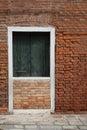 Blocked door by wall