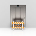 The blocked elevator d generated picture of a Stock Photography