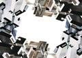 Blocks frame Stock Images