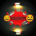 Bloddy halloween design Royalty Free Stock Photo