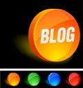 Blog Icon. Royalty Free Stock Photo