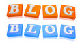 Blog icon Stock Photos